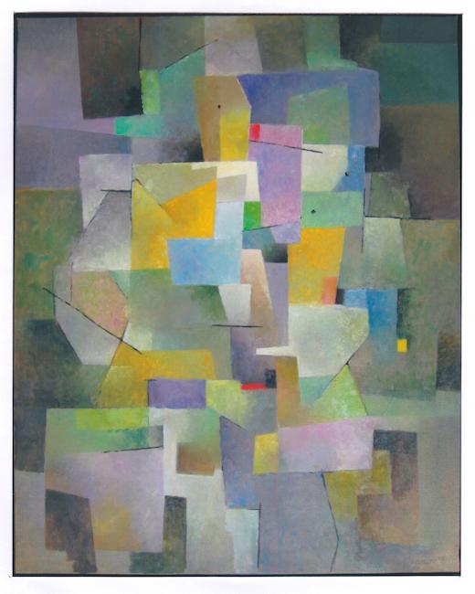 Concierto - 2007 - óleo sobre lienzo - 92 x 73 cm. (colección Rodrigo Madrid - Alboraya)