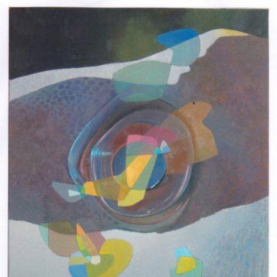 Caleidoscopio - 2008 - óleo sobre lienzo - 100 x 73 cm.