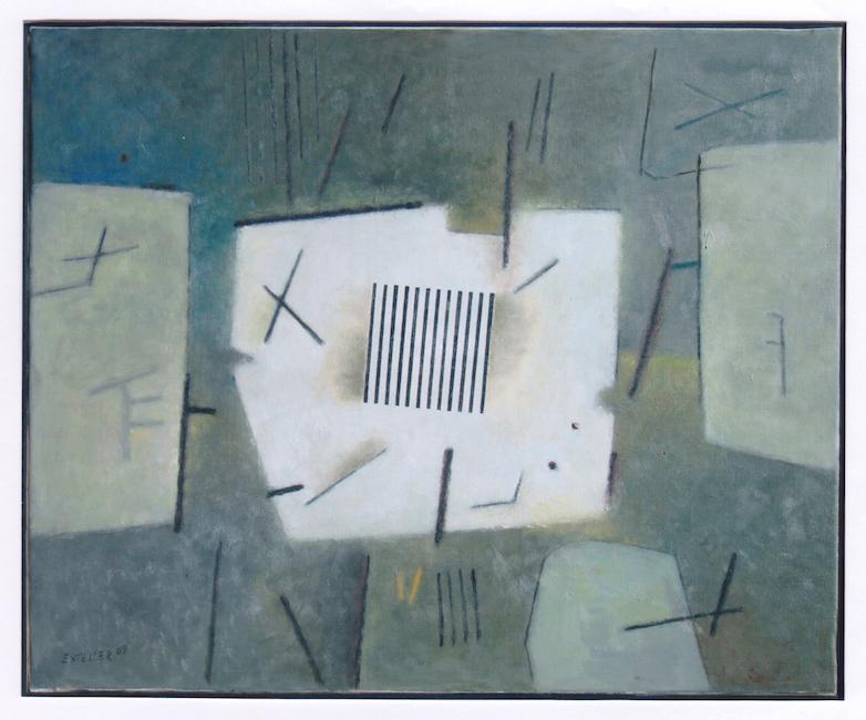 Señales - 2009 - óleo sobre lienzo - 50 x 61 cm.