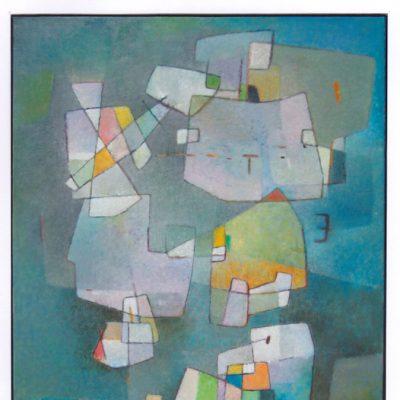 Transparencias - 2009 - óleo sobre lienzo - 81 x 65 cm.