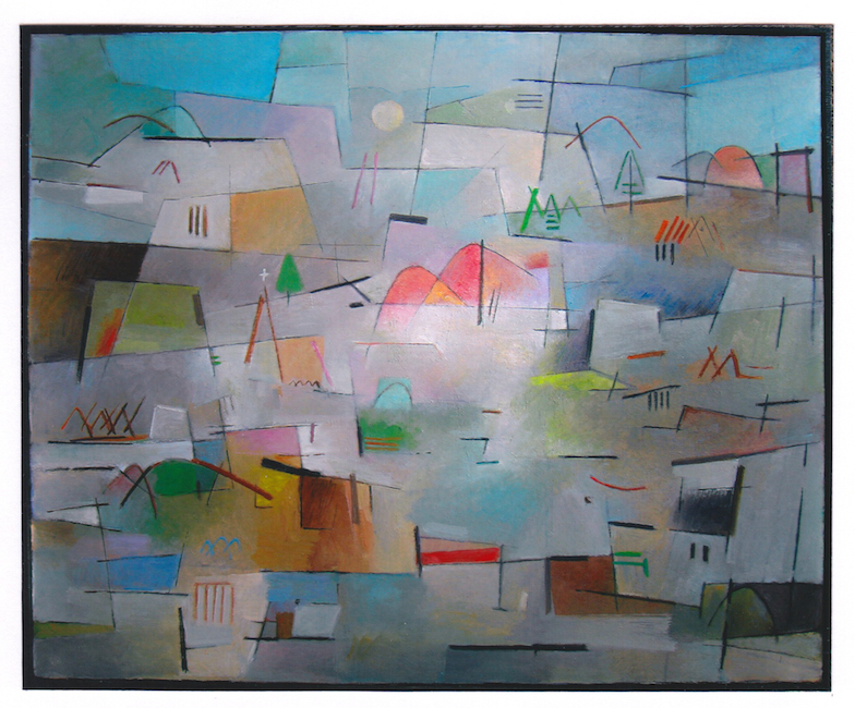 Paisaje - 2014 - óleo sobre lienzo - 81 x 100 cm.
