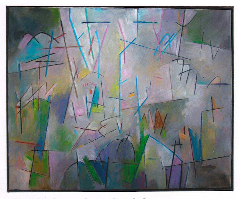 Resurrección - 2015 - óleo - 81 x 100 cm.