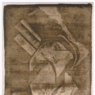 Pesadilla - 1972 - acuarela - 45 x 31 cm.