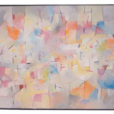 Sin título - 2017 - óleo sobre lienzo