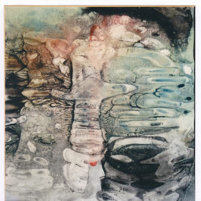 Pájaro II - 1972 - acuarela - 30,5 x 28,7 cm. (Colección Manuel Esteller - Pobla Llarga)