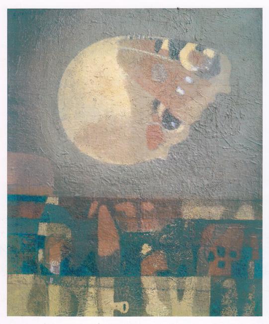 Metamorfosis - 1973 - óleo sobre lienzo - 60 x 50 cm.