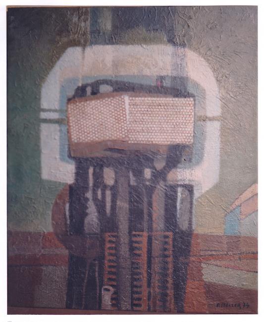 Faro - 1974 - óleo sobre lienzo - 60 x 50 cm.