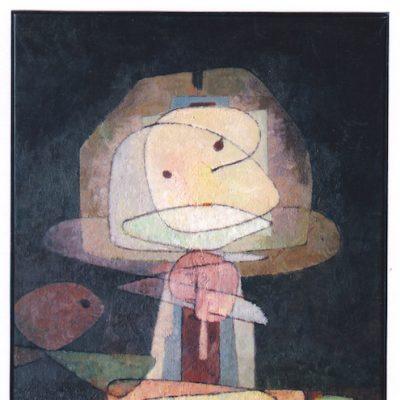 Niño con juguetes - 1976 - óleo - 80 x 60 cm.