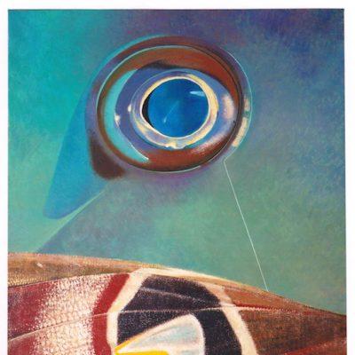 Gran secreto - 1980 - óleo sobre lienzo - 120 x 100 cm.