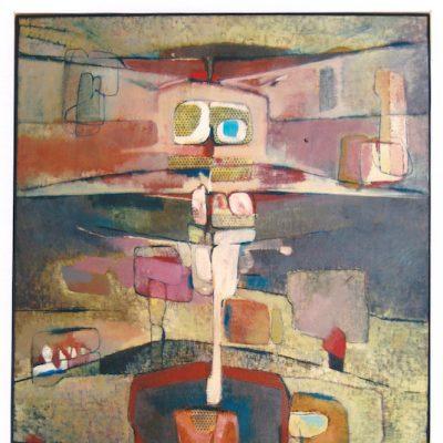 Libélula - 1980 - óleo - 100 x 81 cm.