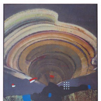 Señales - 1982 - óleo sobre lienzo - 116 x 89 cm. (Colección María Mesonero - Bilbao)