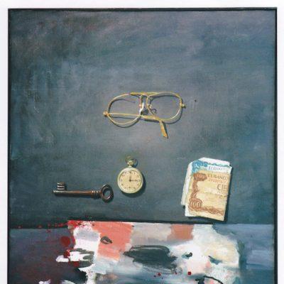 Recuerdos - 1982- óleo sobre lienzo - 65 x 50 cm. (colección Friedel Lepper - Ratingen - Alemania)