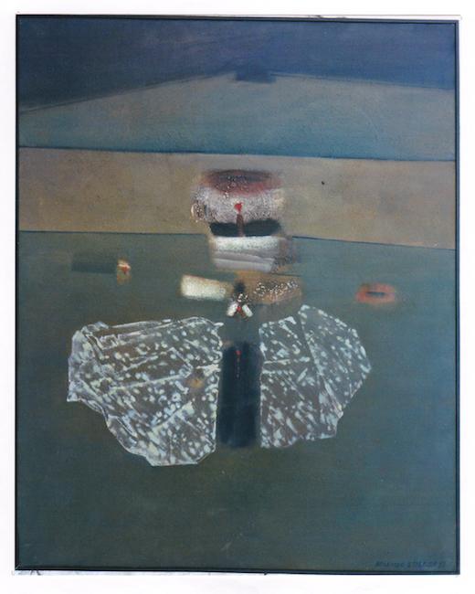 Luz de vela - 1983 - óleo sobre lienzo - 81 x 60 cm.