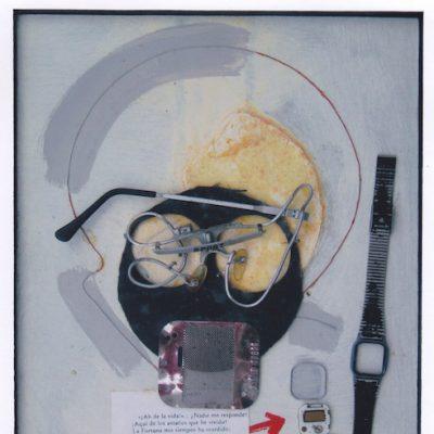 ¡Ah de la vida! - 1987 - collage - 28,7 x 21 cm.