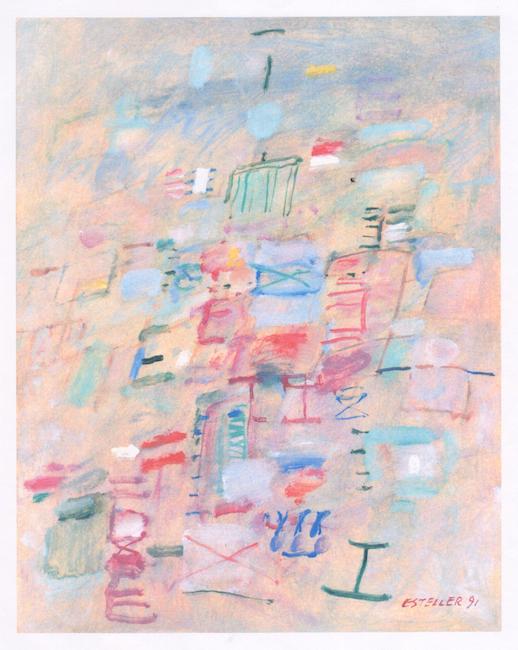 Feria - 1991 - óleo sobre papel - 32 x 25 cm.