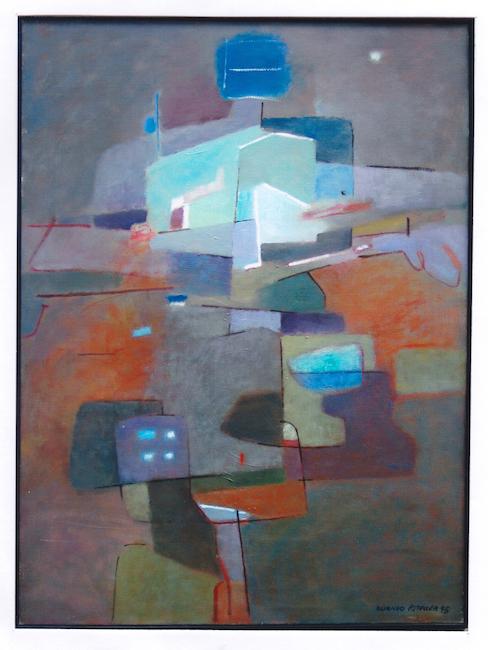 Figura E. - 1995 - óleo sobre lienzo - 73 x 54 cm.