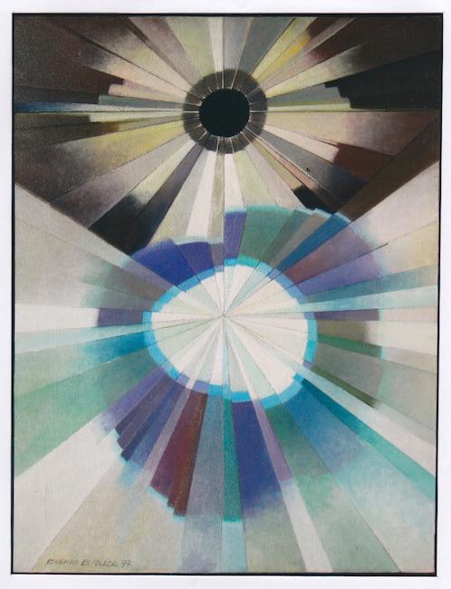 Aureolas - 1997 - óleo - 65 x50 cm.