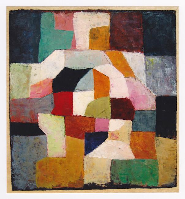 Ritmos - 1969 - óleo sobre lienzo - 38,5 X 36,3 cm.