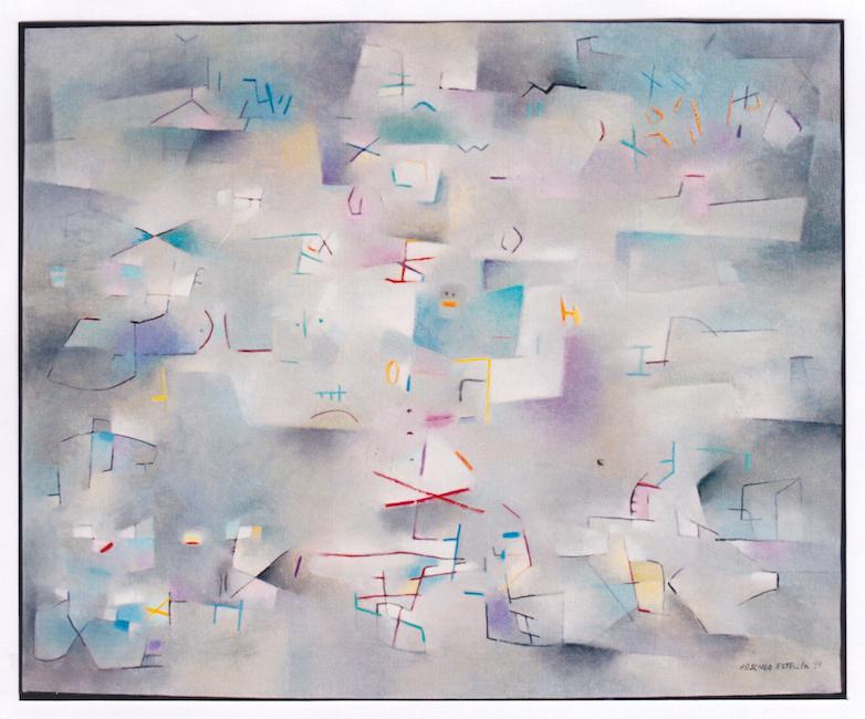 Sueño infantil - 1999 - óleo sobre lienzo - 81 x 100 cm.