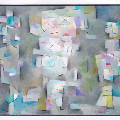 Títeres - 1999 - óleo - 50 x 65 cm.