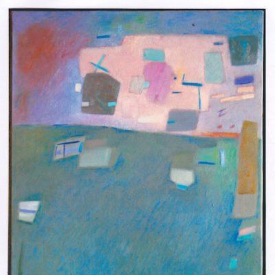 Curioso - 2001 - óleo sobre lienzo - 73 x 54 cm.