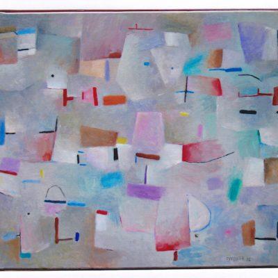 Infantil - 2002 - óleo sobre lienzo - 60 x 73 cm.