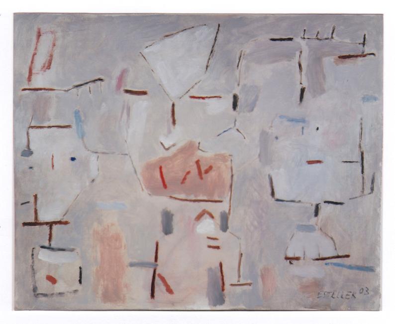 Llave egipcia - 2003 - óleo sobre papel - 25 x 32,5 cm. (colección Luis Ramírez - Barcelona)