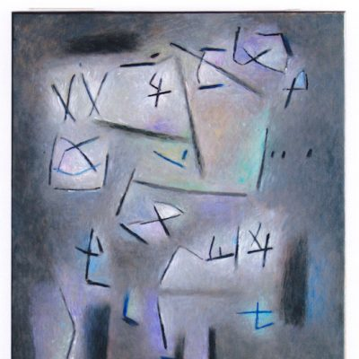 Soñador - 2003 - óleo sobre lienzo - 65 x 54 cm.