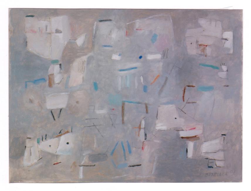 Familia - 2003 - óleo sobre papel- 33 x 44 cm.