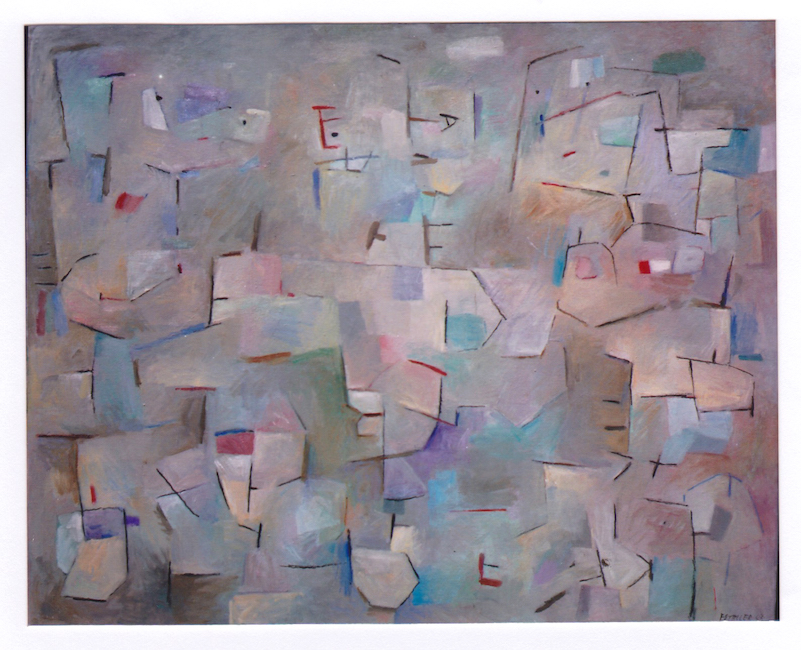 Figuras - 2003 - óleo sobre lienzo - 81 x 100 cm.