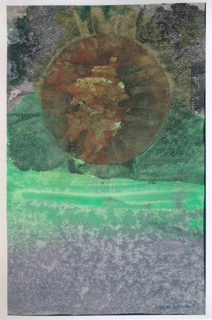 Eclipse - 1971 - acuarela - 43,6 X 29,5 cm.