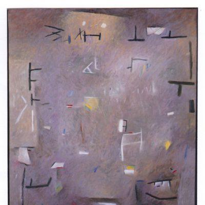 Fantasma - 2004 - óleo sobre lienzo - 92 x 73 cm.