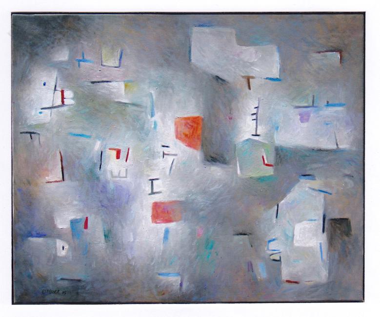 Contraluz - 2004 - óleo sobre lienzo - 60 x 73 cm.
