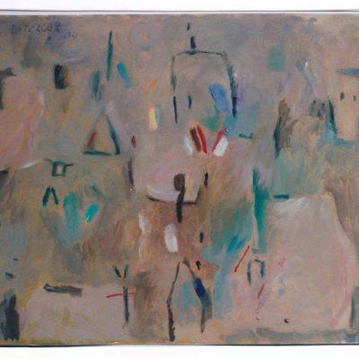 Insecto II - 2004 - óleo sobre papel - 27 x 35,7 cm.