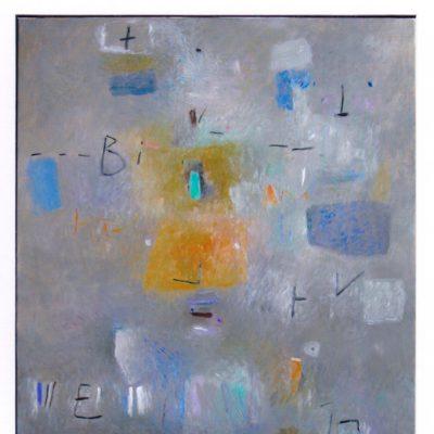 Biko - 2004 - óleo sobre lienzo - 92 x 73 cm.
