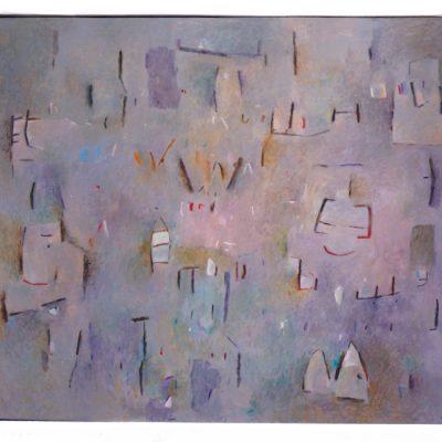 Sonrisas chinas - 2004 - óleos sobre lienzo - 130 x 162 cm.