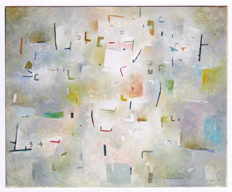 Pensamientos incorrectos - 2005 - óleo sobre lienzo - 81 x 100 cm.