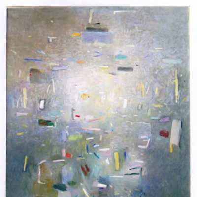 Presencia luminosa - 2005 - óleo sobre lienzo - 100 x 81 cm.