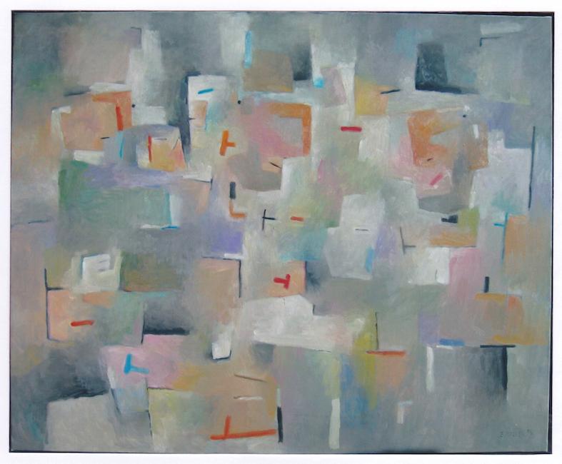 Saludos - 2006 - óleo - 81 x 100 cm. (colección Caja Rural - Onda)