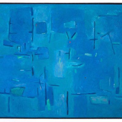 Abisal - 2005 - óleo sobre lienzo - 50 x 61 cm.