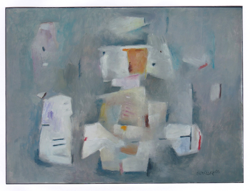 Angel- 2006 - óleo sobre papel - 32,5 x 44 cm.